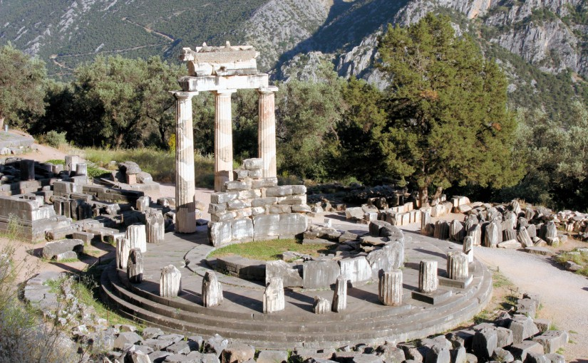 Iscrizione Tempio di Delphi